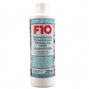 F10 Germicidal Treatment Shampoo with Insecticide